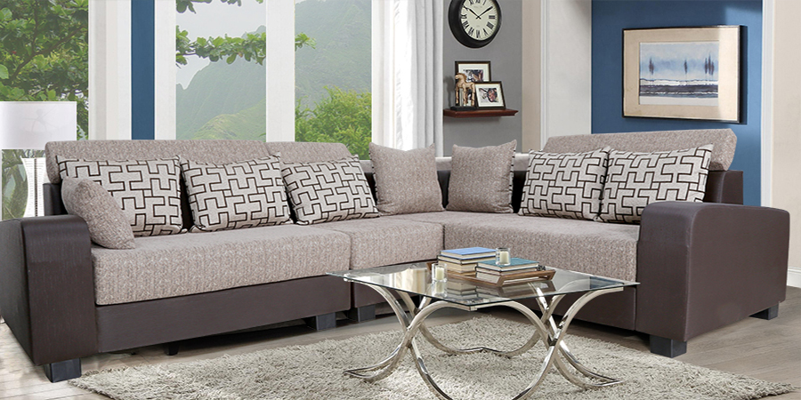 L shape sofa set designs in hyderabad sofa review for Living room furniture hyderabad
