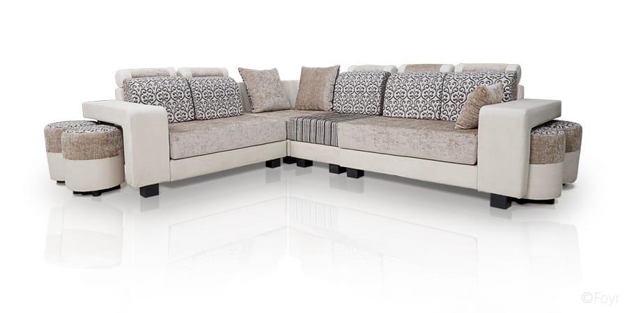 furniture sofa l shaped royal beige l shape sofa 1